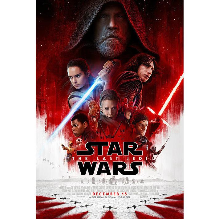 Star Wars- The Last Jedi [Blu-Ray] logo