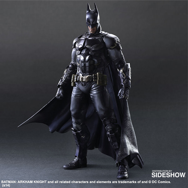Batman Action Figure logo